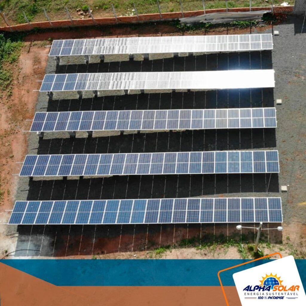 sistema fotovoltaico da alpha solar